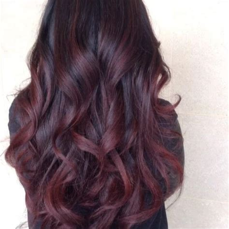 partial red highlights on dark brown hair 25 best hairstyle ideas for brown hair with highlights