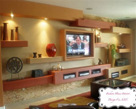 modern style entertainment center floating entertainment center home design ideas pictures