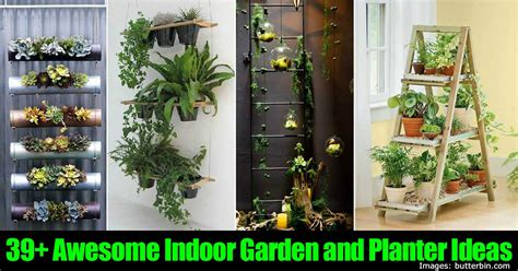 Indoor Planter Ideas by 39 Awesome Indoor Garden And Planter Ideas