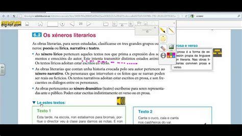 libro savia lengua castellana y libro digital del alumno anaya youtube
