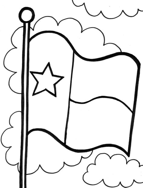 texas flag coloring page state and trafic boosterbiz to