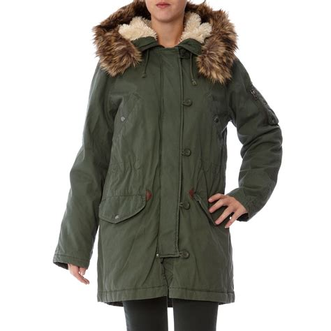 The Gant Parka gant parka kaki brandalley