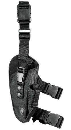 Utg Robot utg elite tactical leg holster black right handed sports outdoors black widow
