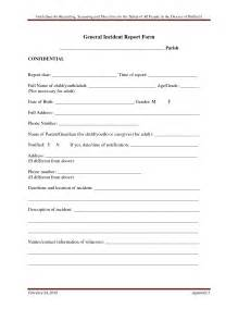 It Security Incident Report Template It Incident Report Template Incident Report Templat It