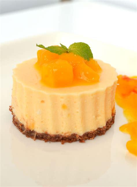 Mango Cheesecake no bake mango cheesecake with mango sauce other spices