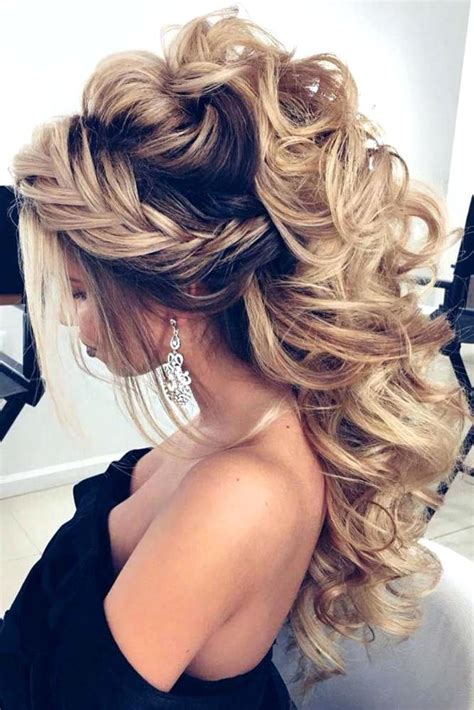 Hairstyles For Hair Updos For Formal by Unique Ideas Formal Hairstyles For Hair Half Up Half