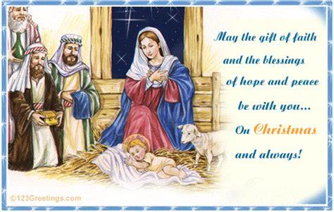 faith hope  peace  orthodox christmas ecards greeting cards