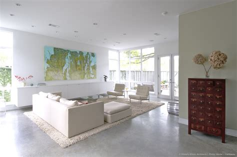 california bungalow living room contemporary with modern modern bungalow murphy mears architects