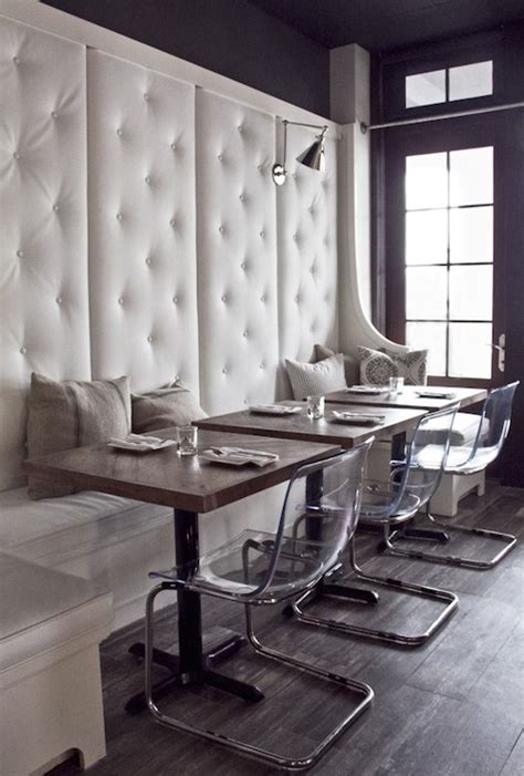 Banquette Restaurant by Ghost Chair Design Ideas
