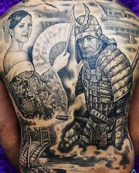 samurai tattoo with geisha 27 best images about samurai on pinterest sketchbook