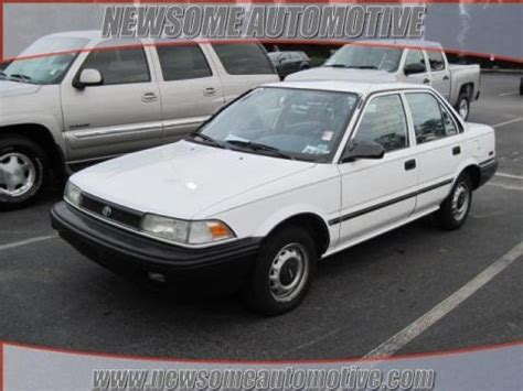 Toyota Corolla 1991 Specs 1991 Toyota Corolla Sedan Data Info And Specs Gtcarlot
