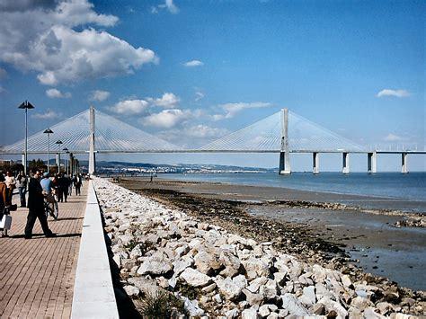 vasco da gama portugal file ponte vasco da gama portugal jpg wikimedia commons