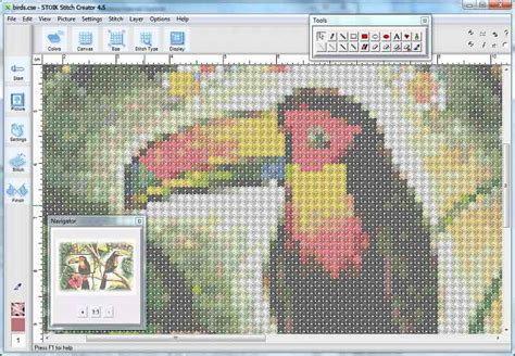 cross stitch pattern maker program free convert photo to a cross stitch pattern features stoik com