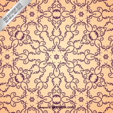 arabesque pattern psd arabic ornamental pattern vector free download