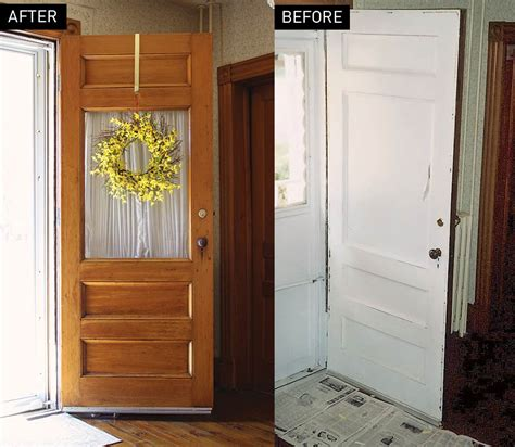 door makeover an entry door makeover old house online old house online