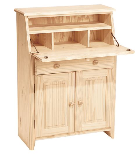 unfinished wood secretary desk unfinished secretary desk desk storage secretarydesk