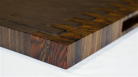 Unique Wood Cutting Boards by Buy A Hand Made Walnut And Cocobolo End Grain Cutting