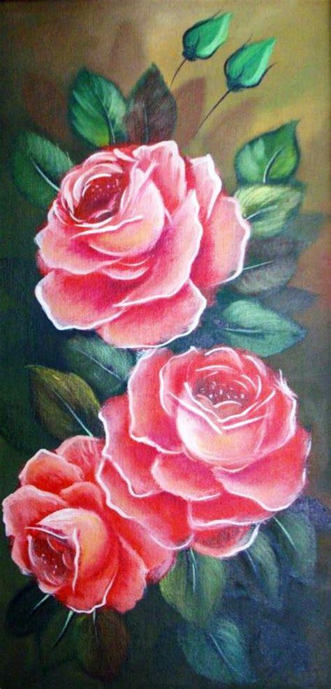 imagenes de flores pintadas al oleo cuadros modernos pinturas y dibujos cuadros de rosas