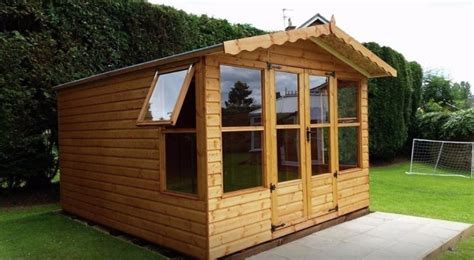 Custom Built Garden Sheds by Garden Sheds Concrete Garages In Peterborough March