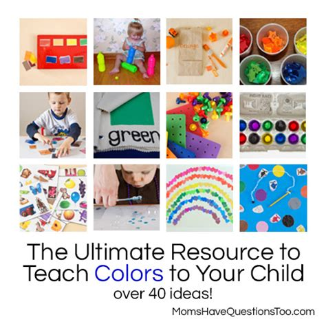 teaching colors the ultimate resource to teach colors to your toddler