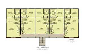 4 Unit Apartment Building Plans by Gallery For Gt 10 Unit Apartment Building Plans