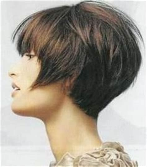 modified stacked wedge hairstyle modified wedge haircut short hairstyle 2013