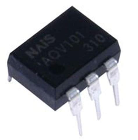 transistor ew aqv254h datasheet specifications load voltage max 400v load current