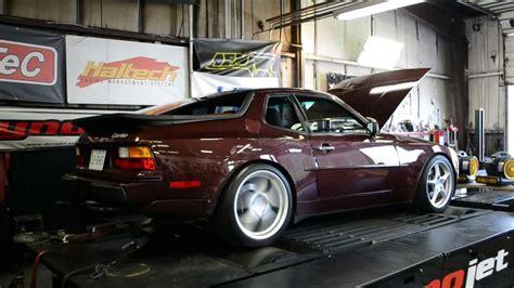 porsche 944 tuned porsche 944 turbo dyno