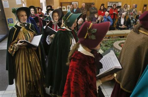 charles dickens biography middle school hersey carolers brighten prospect heights library