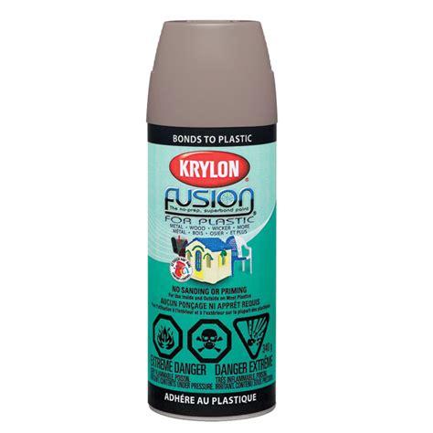 quot fusion quot spray paint for plastic rona