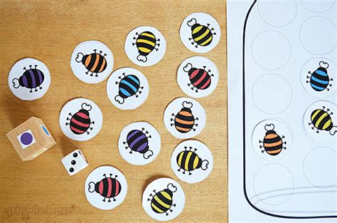 bed bugs game catch a bug free printable game picklebums