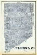 culberson county map historic map works residential genealogy
