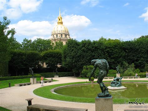 rodin gardin and the dome of les invalides 1280x960