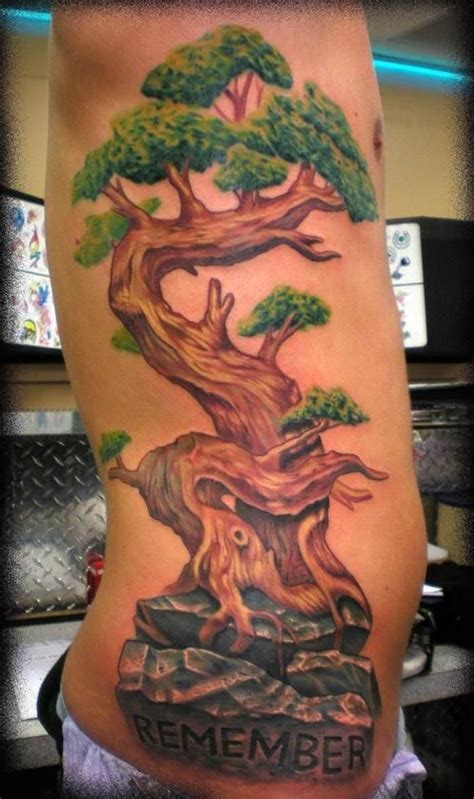 japanese bonsai tree tattoo designs 25 best ideas about tree side on tree