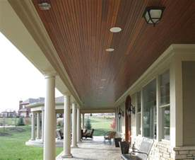 wood ceiling porch ceiling stain to match doors house