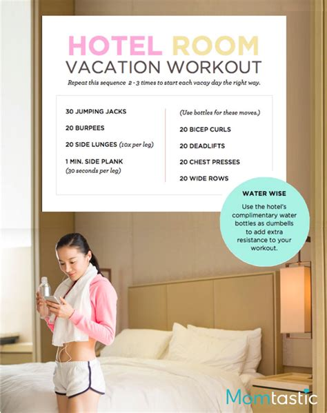 bedroom exercise routine 7 easy vacation workouts