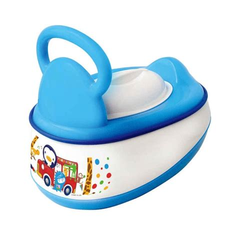 Puku Baby Potty puku 5 in 1 baby potty blue diapers