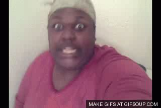 Fat Black Lady Meme - toilet gif find share on giphy