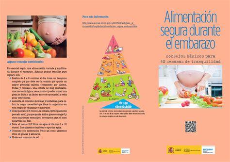 alimentos prohibidos para embarazadas aecosan agencia espa 241 ola de consumo seguridad