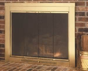 Contemporary hearth craft fireplace glass door custom product modern