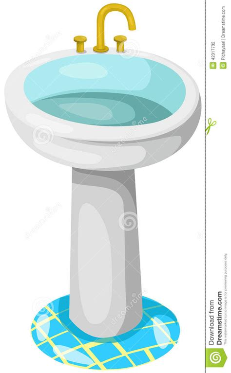cartoon bathroom sink bathroom sink stock vector image of room modern home