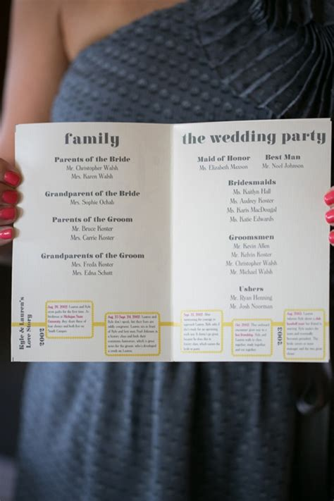 Wedding Ceremony Details by 13 Of The Sweetest Wedding Ceremony Booklet Details