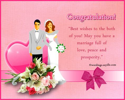 wedding wishes congratulations wedding messages