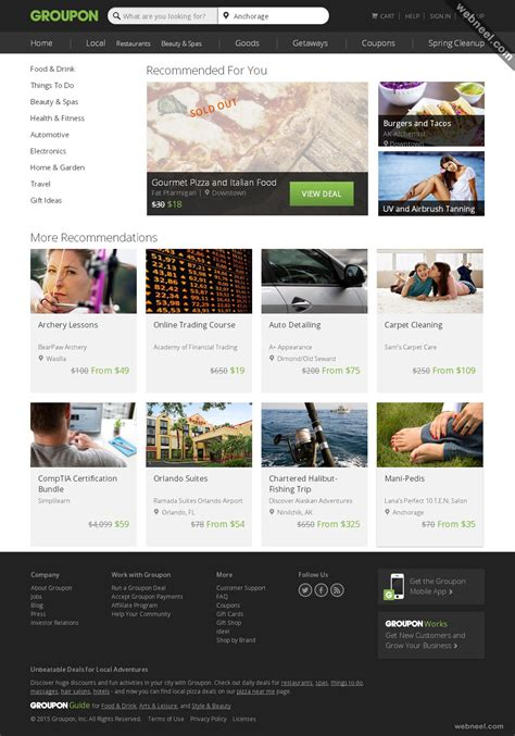 design inspiration ecommerce 30 creative e commerce website design exles for your