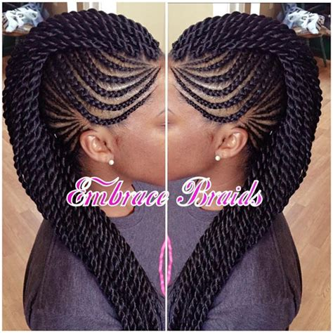 lasted look for braids cornrows mohawk google search hairstyles pinterest