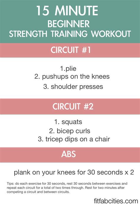 beginner strength workout resistance bands exercises