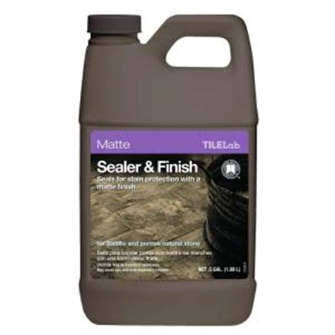 custom building products tilelab 1 2 gal matte sealer and