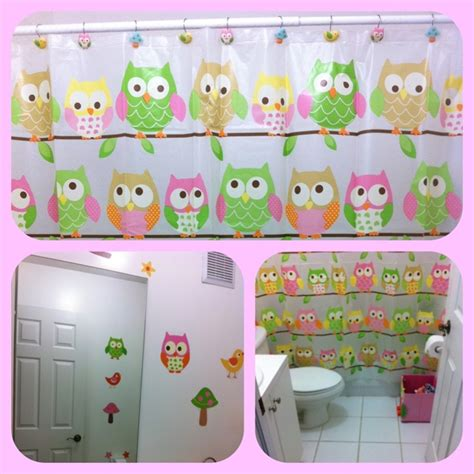 kids owl bathroom decor applying the owl bathroom decor home design ideas on