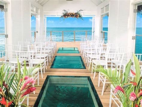 New Over The Water Chapel at Sandals South Coast   Jamaica