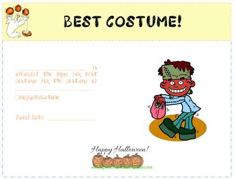 costume certificate template best costume award certificate template certificate of